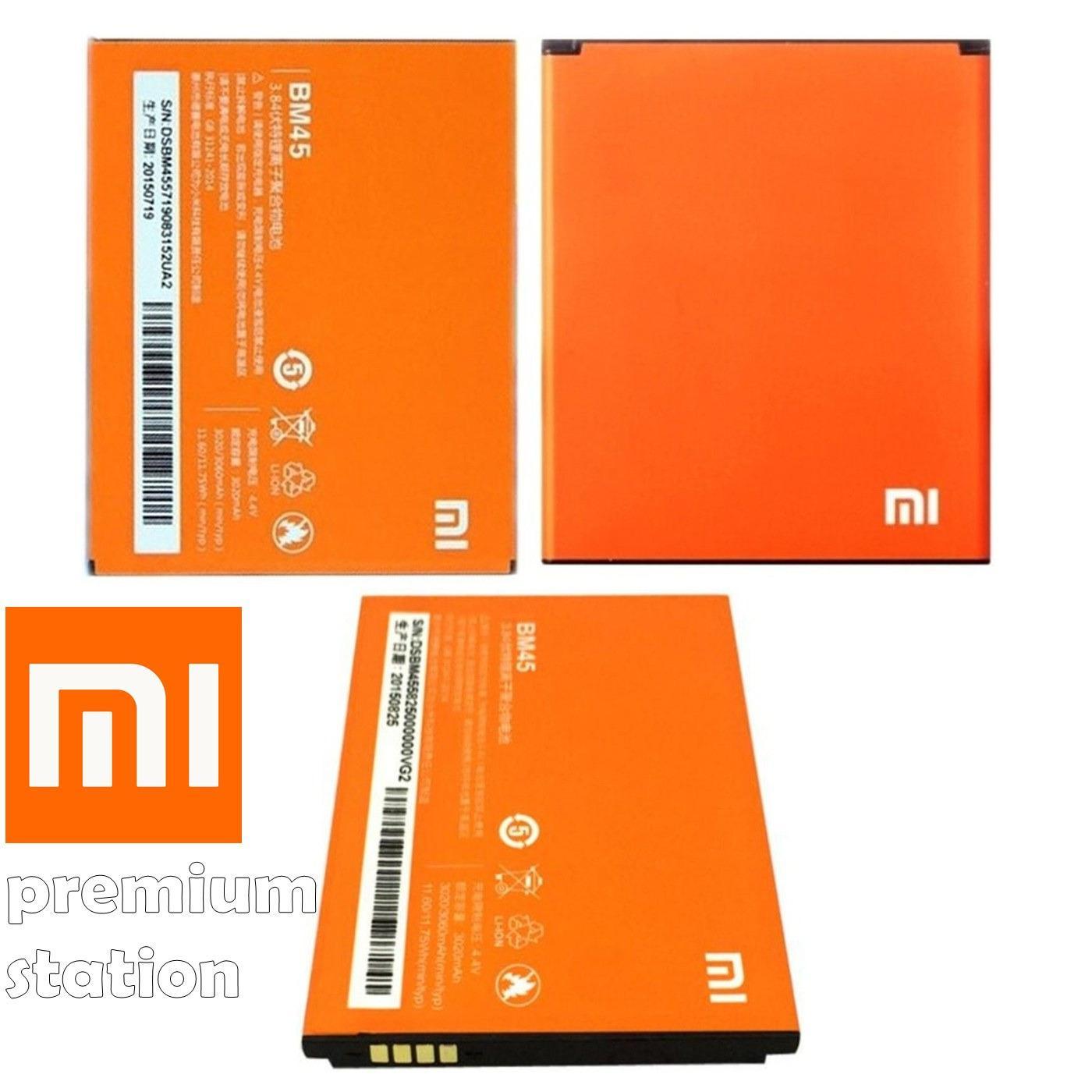Jual Beli Online Xiaomi Powered Baterai Bm45 Redmi Note 2 3020 Mah Origiinal