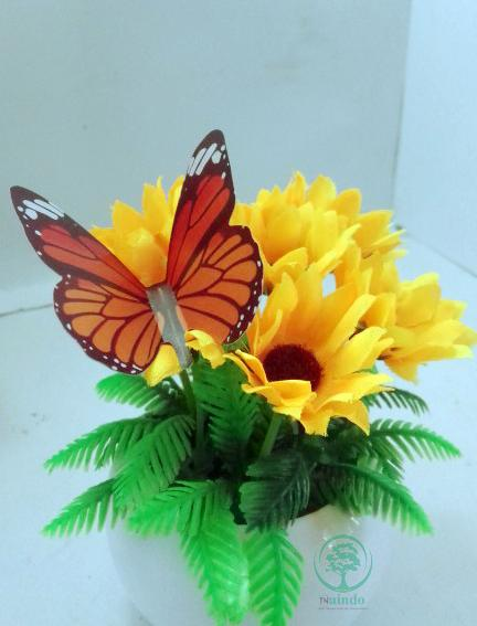 GlL-Bunga Mini Artifisial hiasan ruang tamu dan kantor-bunga palsu-bunga  Hias 13bb1a9cb3