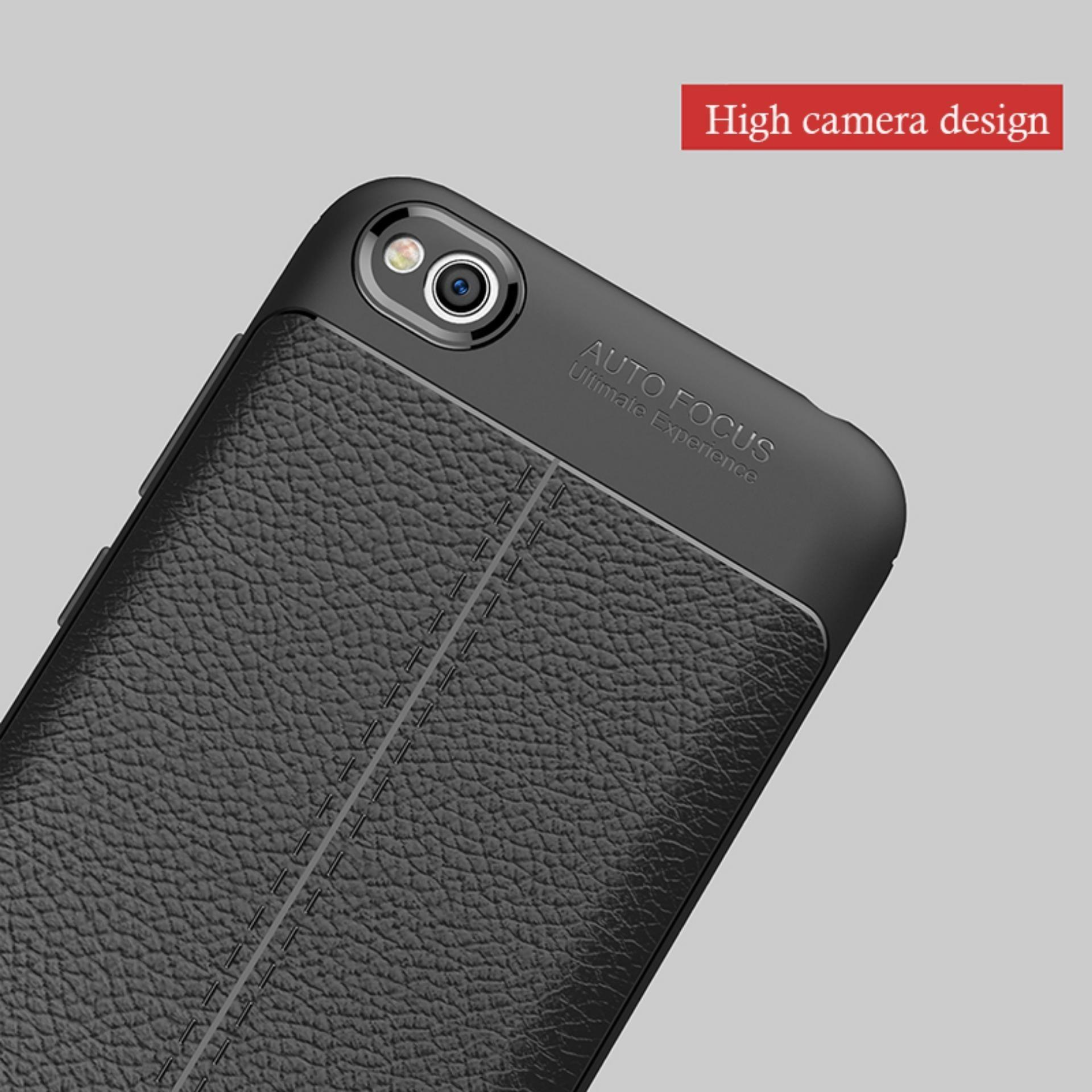 Lapak Case Leather Ultimate Experience Shockproof Premium Quality Hybrid Case for Xiaomi Redmi .