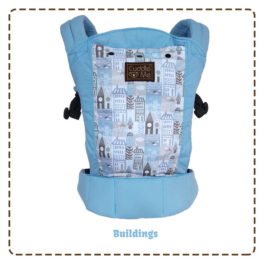 CuddleMe Gendongan Bayi / Gendongan Bayi Depan / Gendongan Bayi Hipseat - Lite Carrier - Babyklik