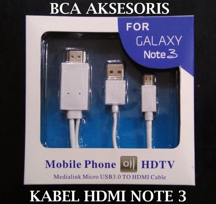 KABEL MICRO USB TO HDMI 1080P ADAPTER KABEL SAMSUNG GALAXY NOTE 3