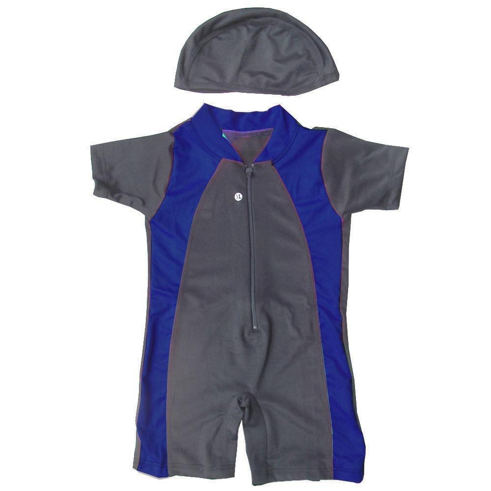 Baju Renang Bayi Unisex Dengan Topi Murah