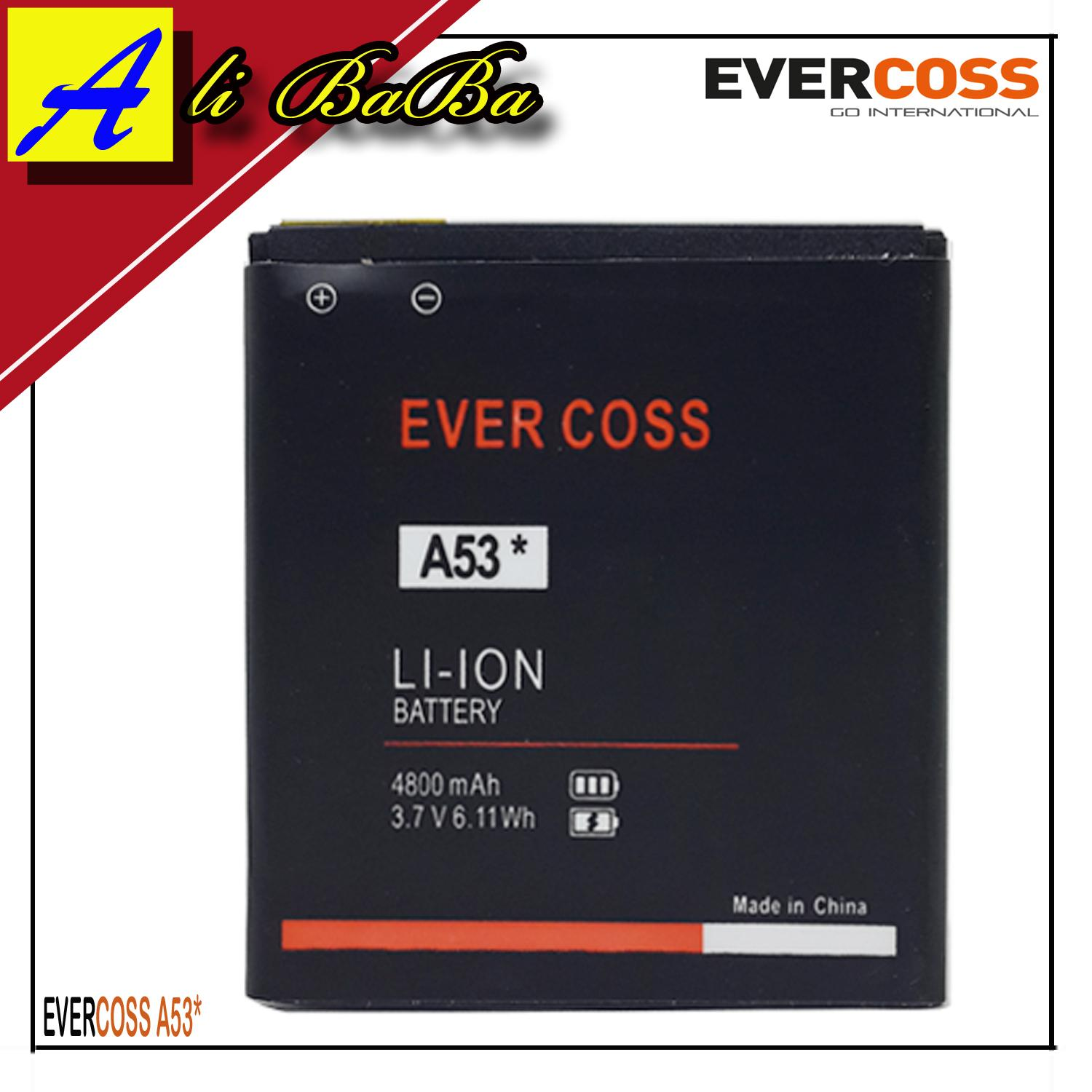 Fitur Baterai Handphone Evercoss A5t Dobel Power Original A74b A53 Bintang Batu Batre Battery
