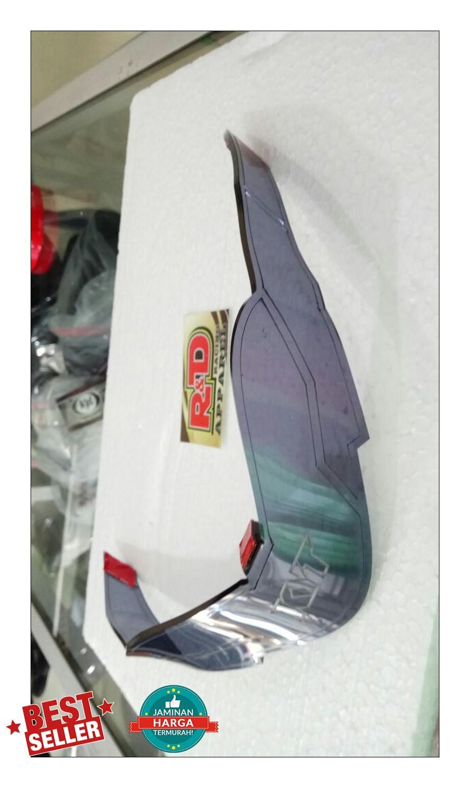 Harga Cargloss Racer Spoiler Devil Silver Terbaru Review Ulasan Evaporator Bmw New X5 Ori Behr Kyt K2 Rider