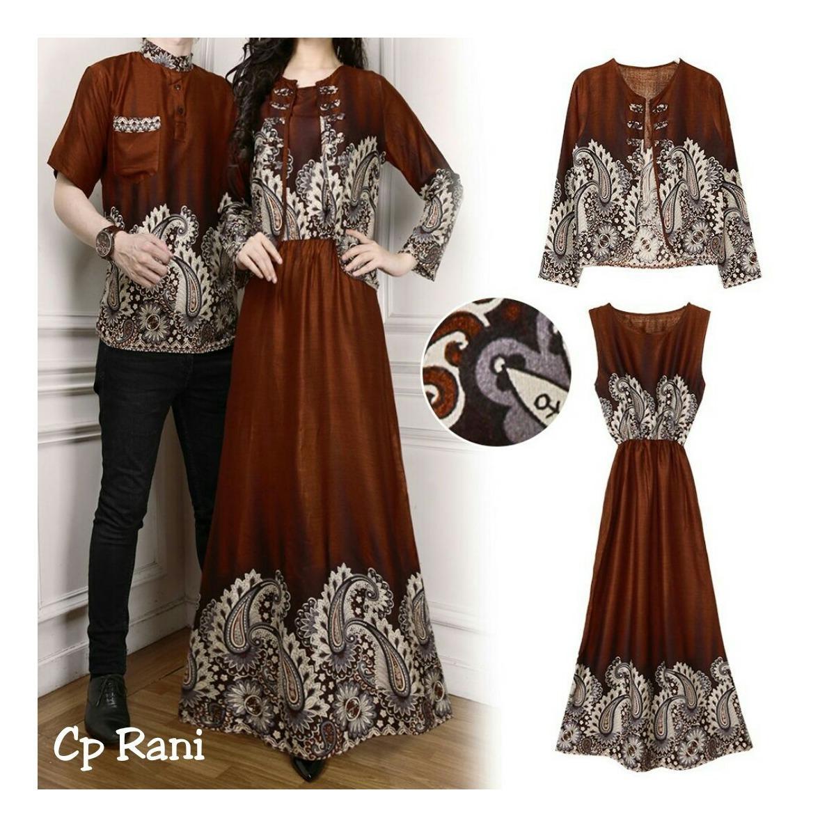Suki Baju Couple Rani / Pakaian Kembar / Couple / Couple Muslim / Couple Batik / Kaos Couple / Kemeja Couple / Baju Pasangan / Fashion Couple / Sweater Couple / Kaos Pasangan