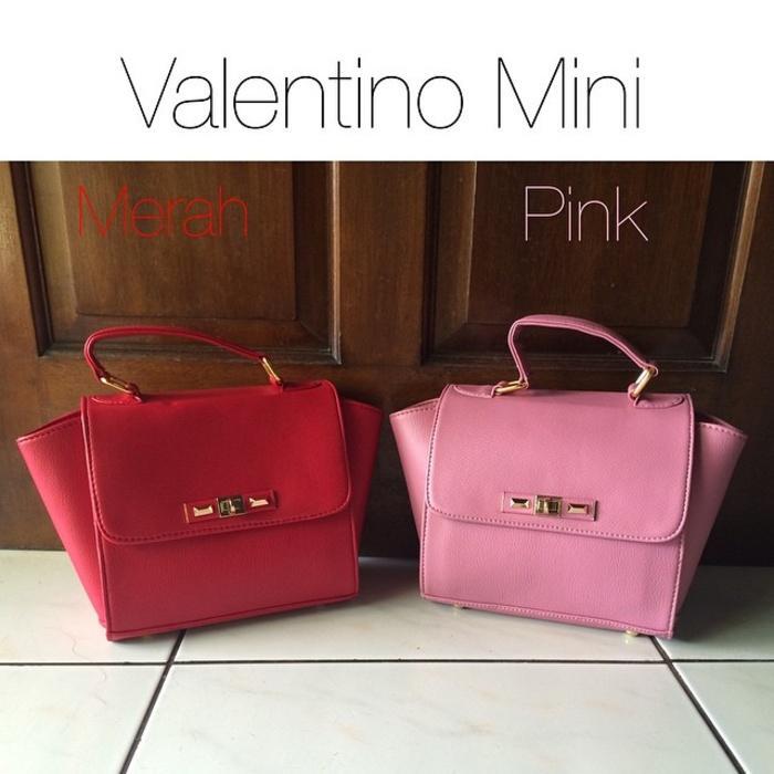 Tas Hand Bag Branded Wanita Cantik Berkelas  Tas Wanita Valentino Mini Impor Murah