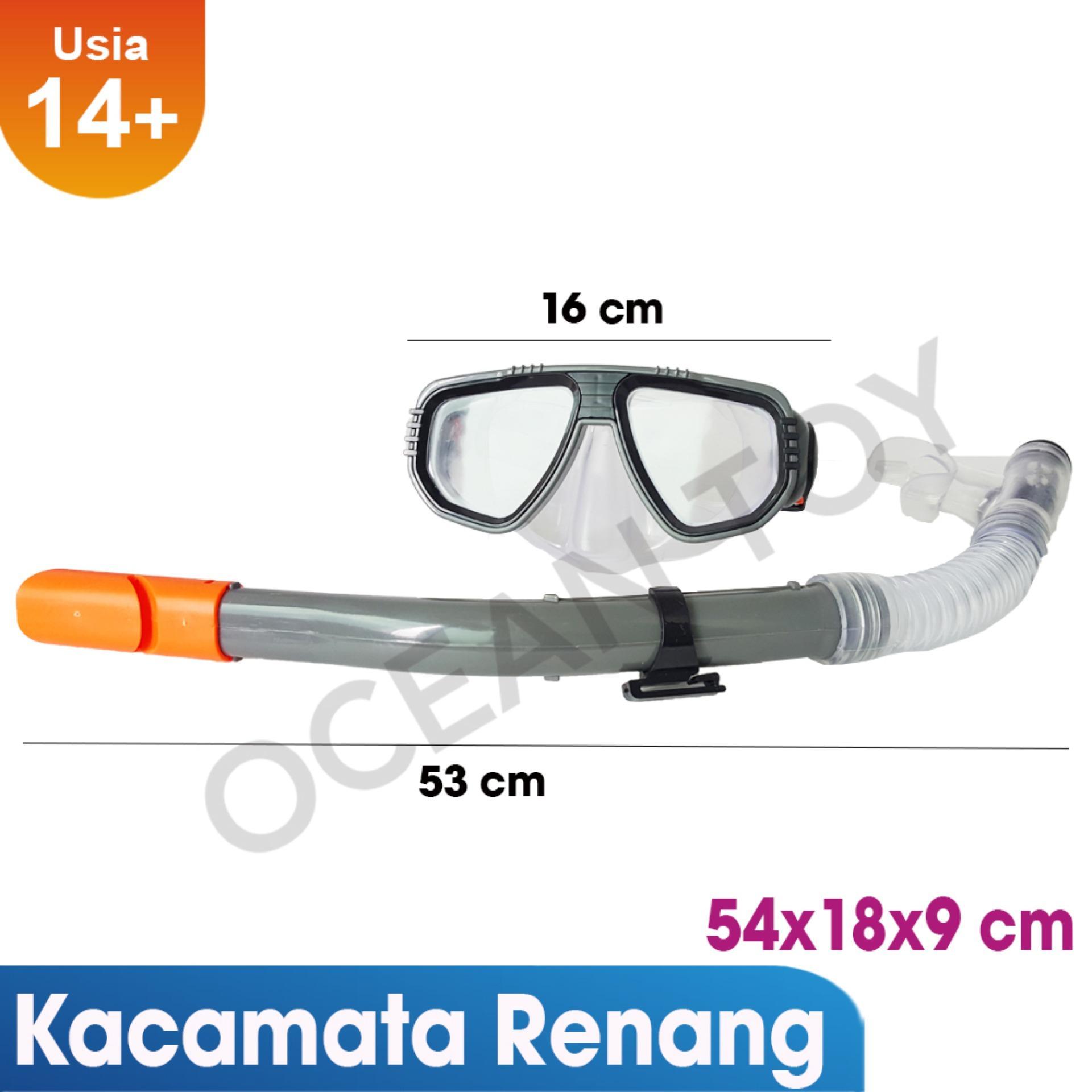 Harga Ocean Toy Aqua Splash Snorkeling Set Oti63016 Ocean Toy Baru