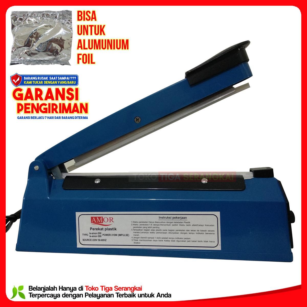 Amor Impulse sealer PFS-200 Press Plastik 20 Cm