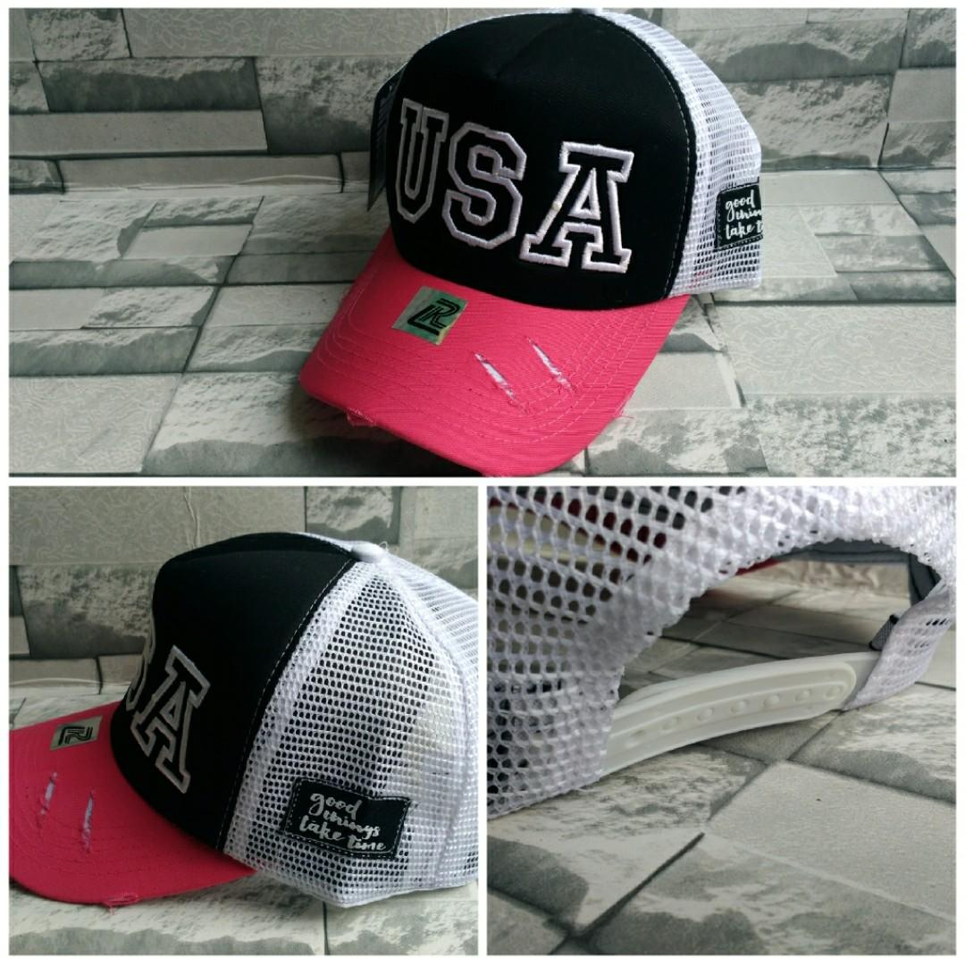 Fitur Deace Of Dream Topi Import Pria Design Exclusive Peace Dan Impor Premium Model Jaring