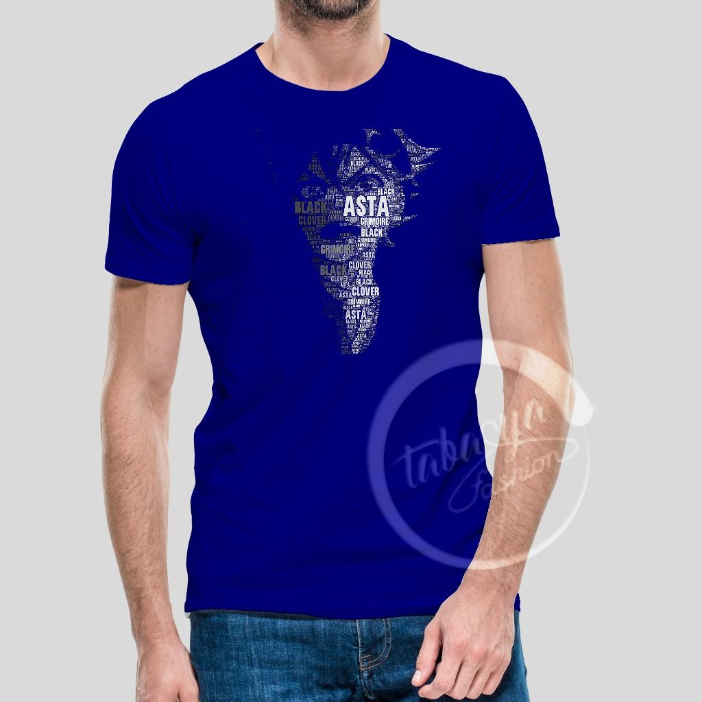 Tabasya Fashion TShirt - Kaos Asta The Black Bull Manga Black Clover