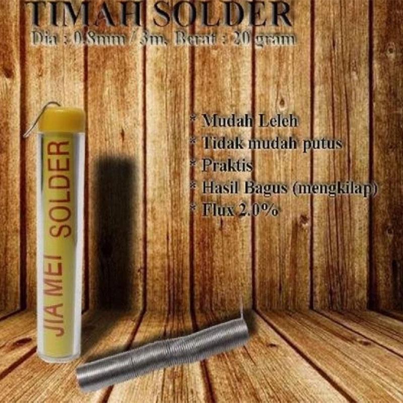 EELIC SOR-A008 MIX2 ORANGE Solder Tembak 80W + Pasta Solder SP .