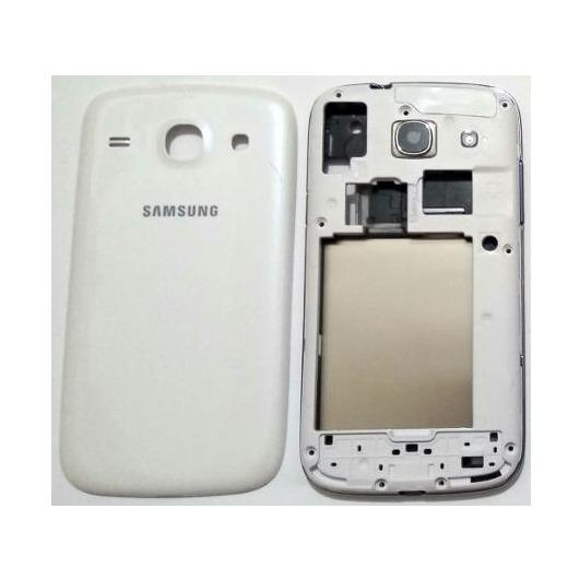 Housing Backdoor Fullset Casing - Back Case Plus Tulang Body - Samsung Galaxy Core