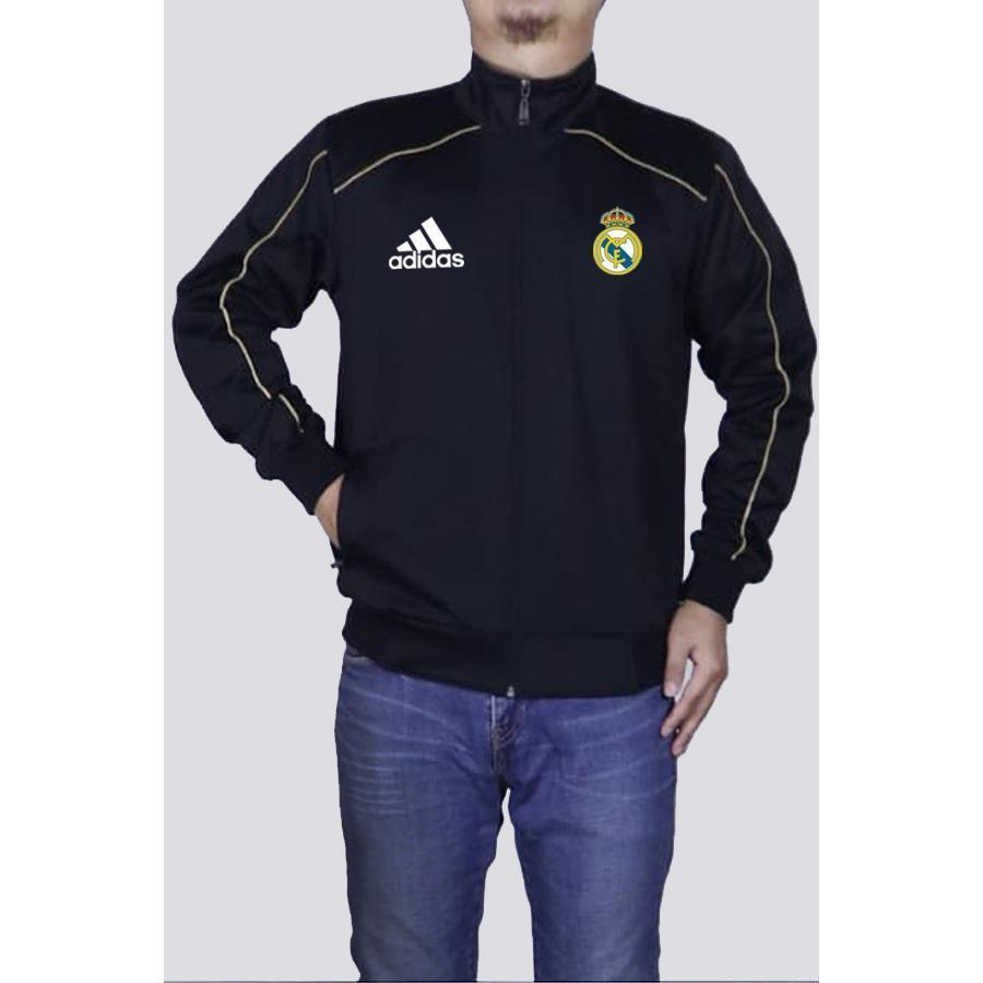 Just Cloth Jaket Jersey Pria Football Real Madrid El Real List 1