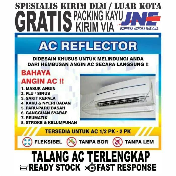 PROMO - PENAHAN HEMBUSAN AC / AKRILIK AC / TALANG AC MATERIAL ACRYLIC High Quality