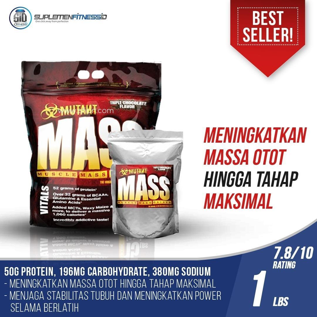 Jual Mutant Mass 1 Lbs Eceran Mutant Online
