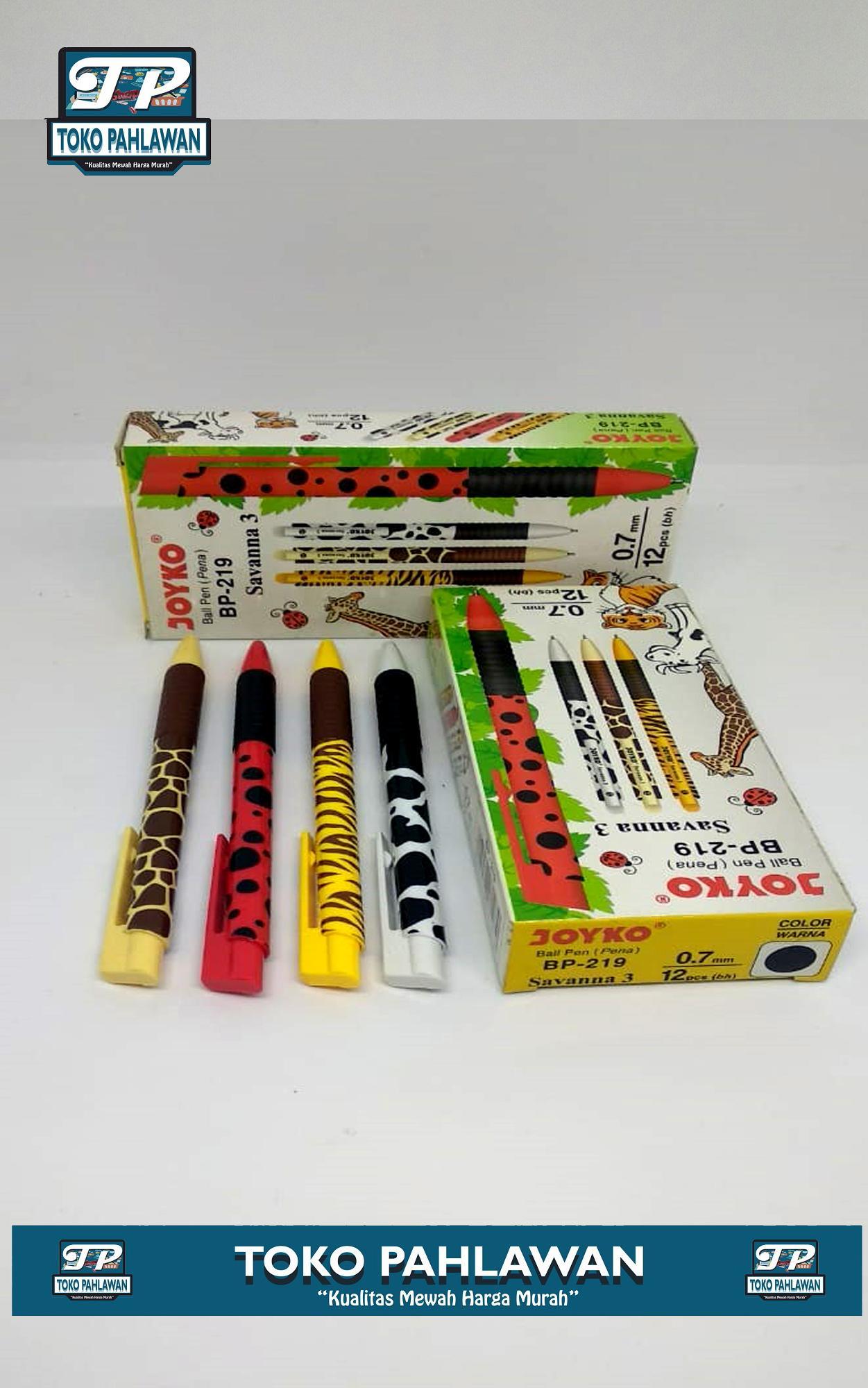 Fitur Kotak Pensil Tingkat Karakter Kode Kunci Tepak Tempat Pulpen Bagus Joyko Bp 219 Motif Savanna 07 Mm 1 Lusin 12 Pcs Tinta