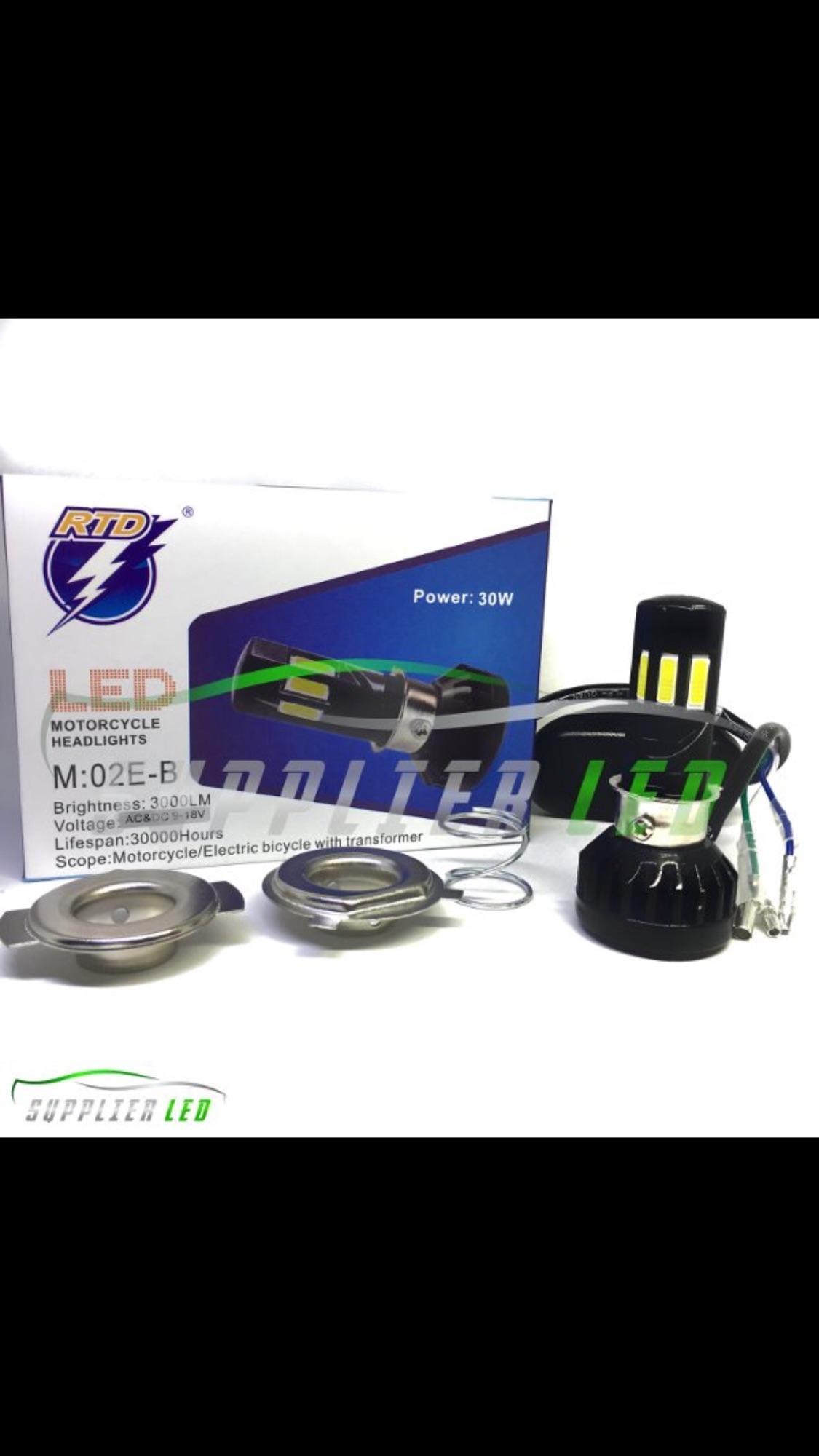 Kelebihan Lampu Utama Led Motor 2 Sisi Rtd M11g Socket H6 Terkini Depan Dc Mobil 6 M02e B