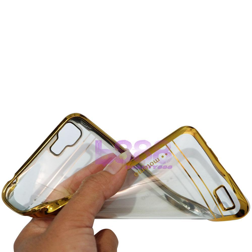 Gambar Produk Rinci Motomo Chrome Case Vivo Y35 Shining Chrome / Silicone Oppo Y35 Shining List