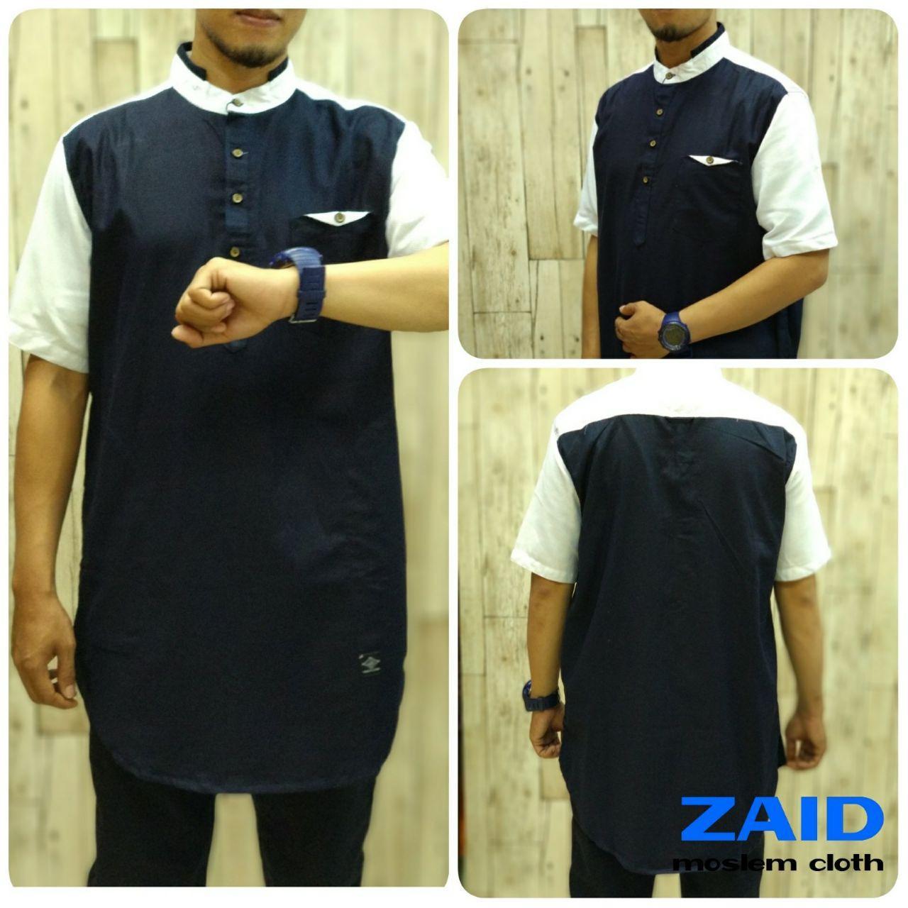Pakaian Muslim Pria - Baju Gamis Pria - Kurta Pakistan Zaid 006