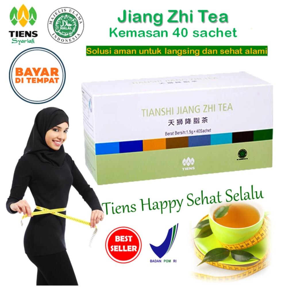 Harga Tiens Teh Pelangsing Jiang Zhi Tea Paket Hemat 40 Sachet By Tiens Happy Sehat Selalu Tiens Indonesia