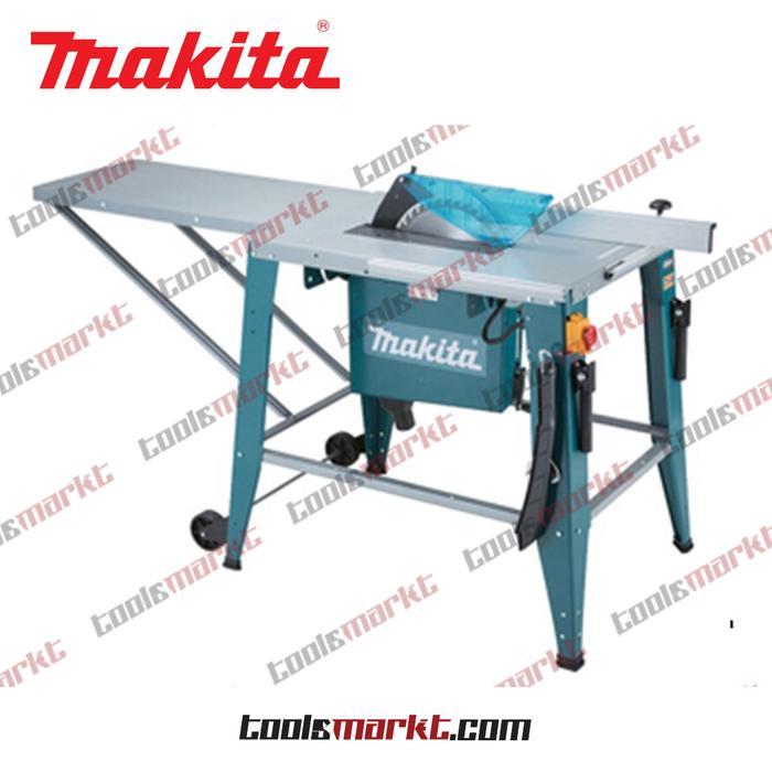 ORIGINAL - Makita 2712 Mesin Potong Kayu Meja Table Saw Machine TCT Blade