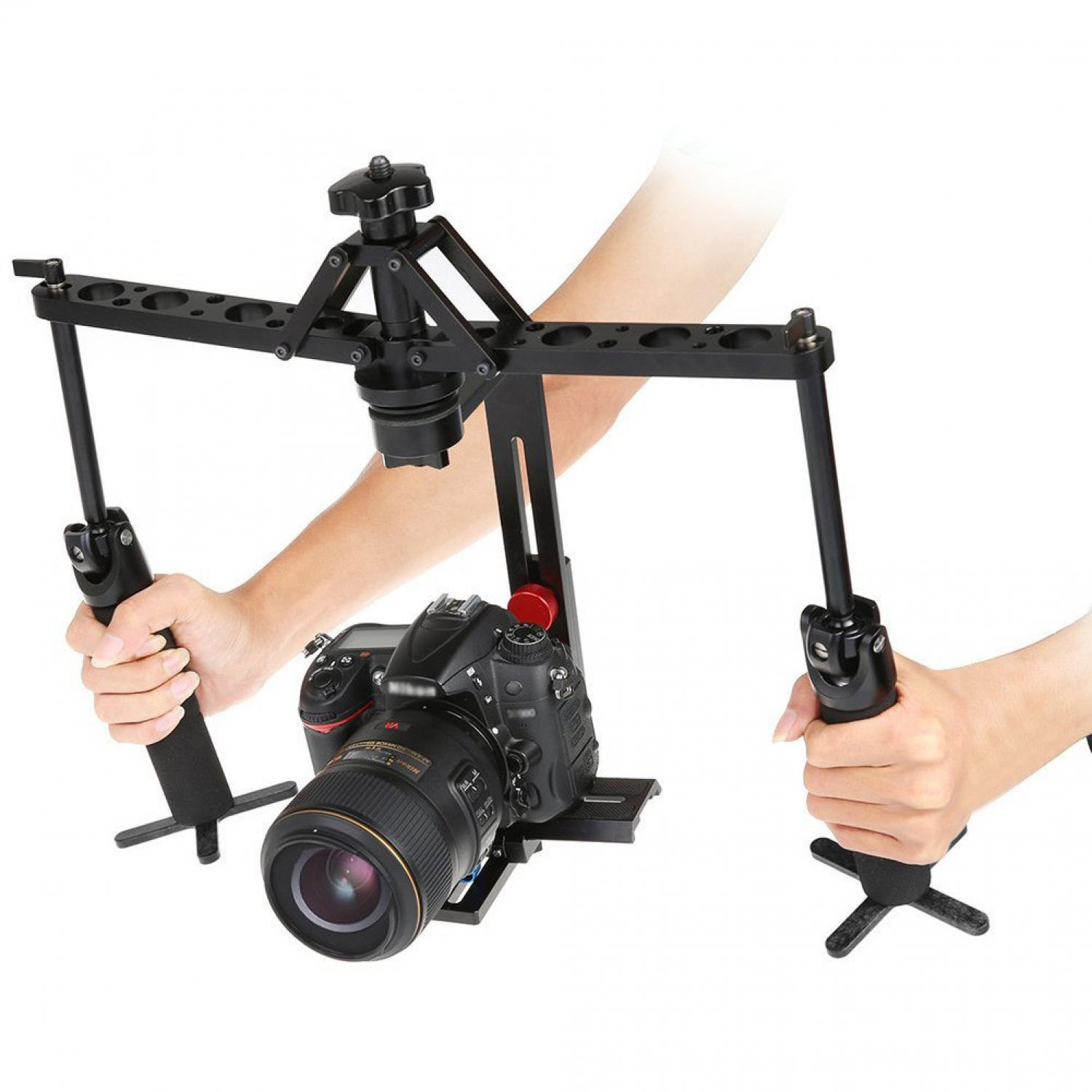 Handheld  Stabilizer  Camera Rig  Gimbal 2 - Axis for DSLR Canon Nikon Sony
