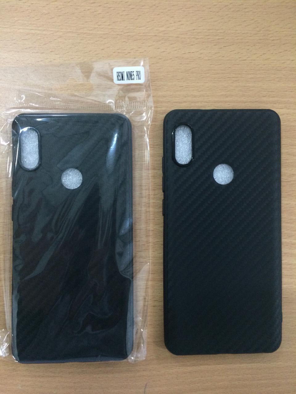 TPU Fiber Carbon Case Xiaomi Redmi Note 5 Pro NEW