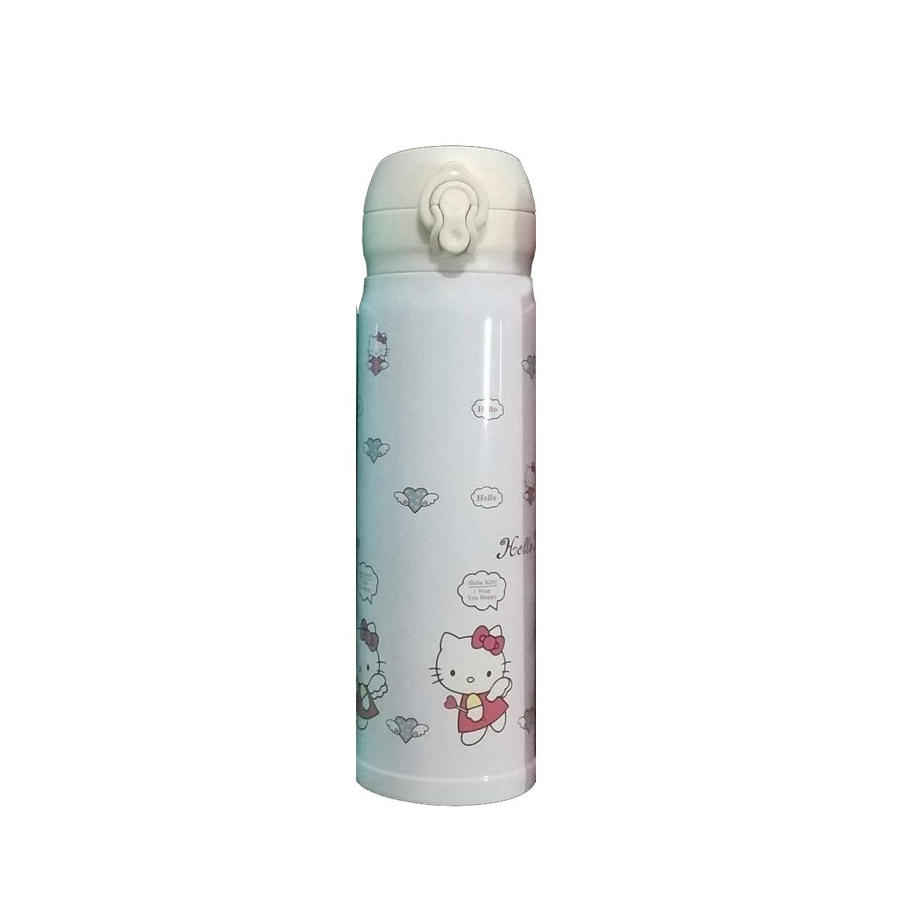 Gambar Produk Rinci Termos Air Panas Stainless Steel Vacuum Flask Karakter 500 ML New Generation Terkini