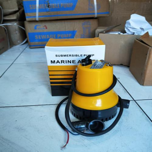 MAXPUMP Pompa Air Celup 12 Volt Pompa Kolam Mesin Pompa Air Celup Submersible Pump Pompa DC