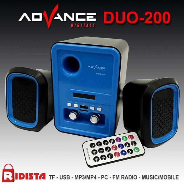 Referensi Speaker Aktif Speaker Advance DUO-200 -T397