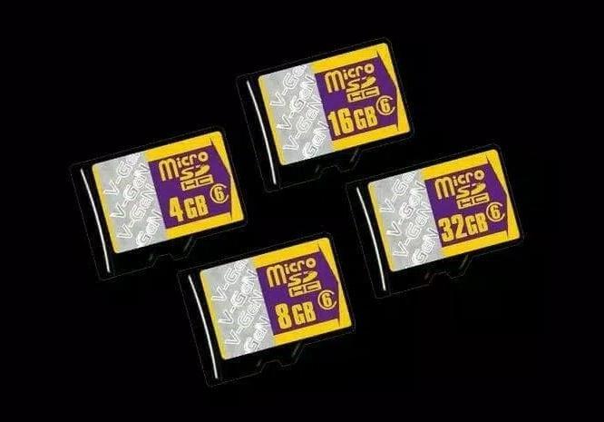 Detail Gambar Memori Micro SD V-GeN Memory Card 32gb Class 6 Vgen C6 Original MMC SDHC TF V gen Terbaru