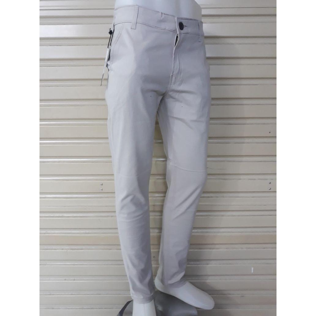 Fitur N Collection Celana Pria Chino Panjang Hitam Dan Harga Terkini Htam Putih Gading