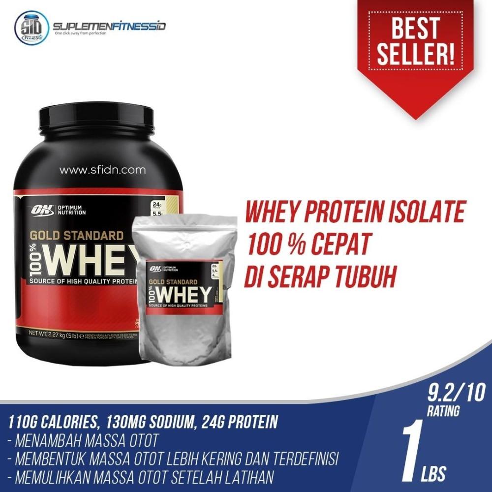 Toko Optimum Nutrition Whey Gold Standard Eceran 1Lbs Optimum Nutrition