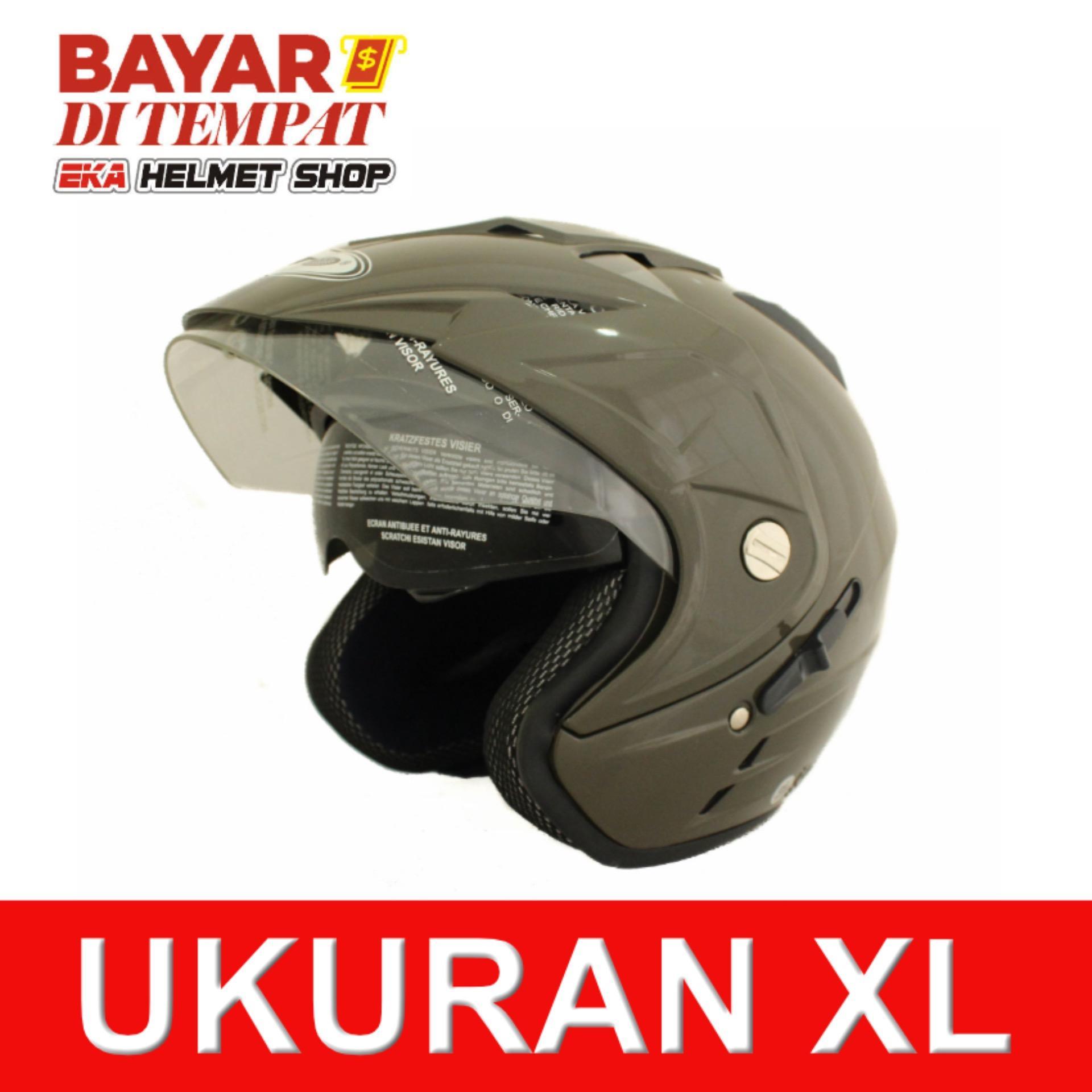 Wto Helmet Impressive Hijau Tua Di Banten