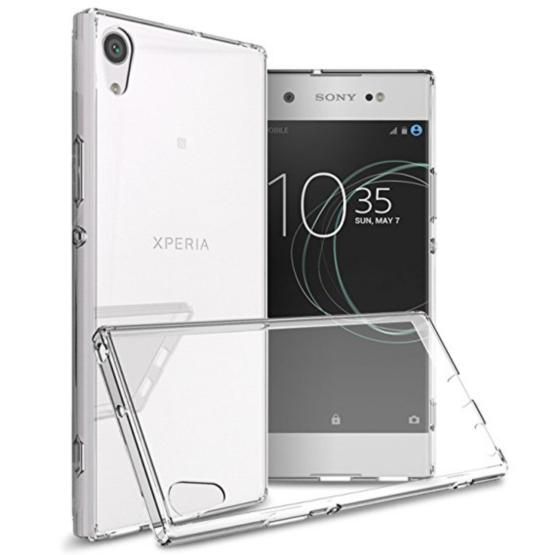 LOLLYPOP Ultrathin TPU Jelly Sony Xperia Xa Ultra - Clear/Transparant Softcase Silicone Backcase Backcover