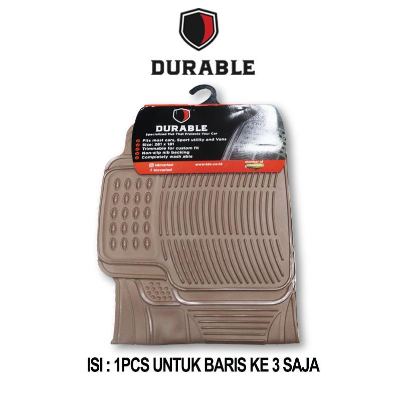 TOYOTA AVANZA Karpet Mobil Karet PVC DURABLE 1Pcs Baris 3 - 2