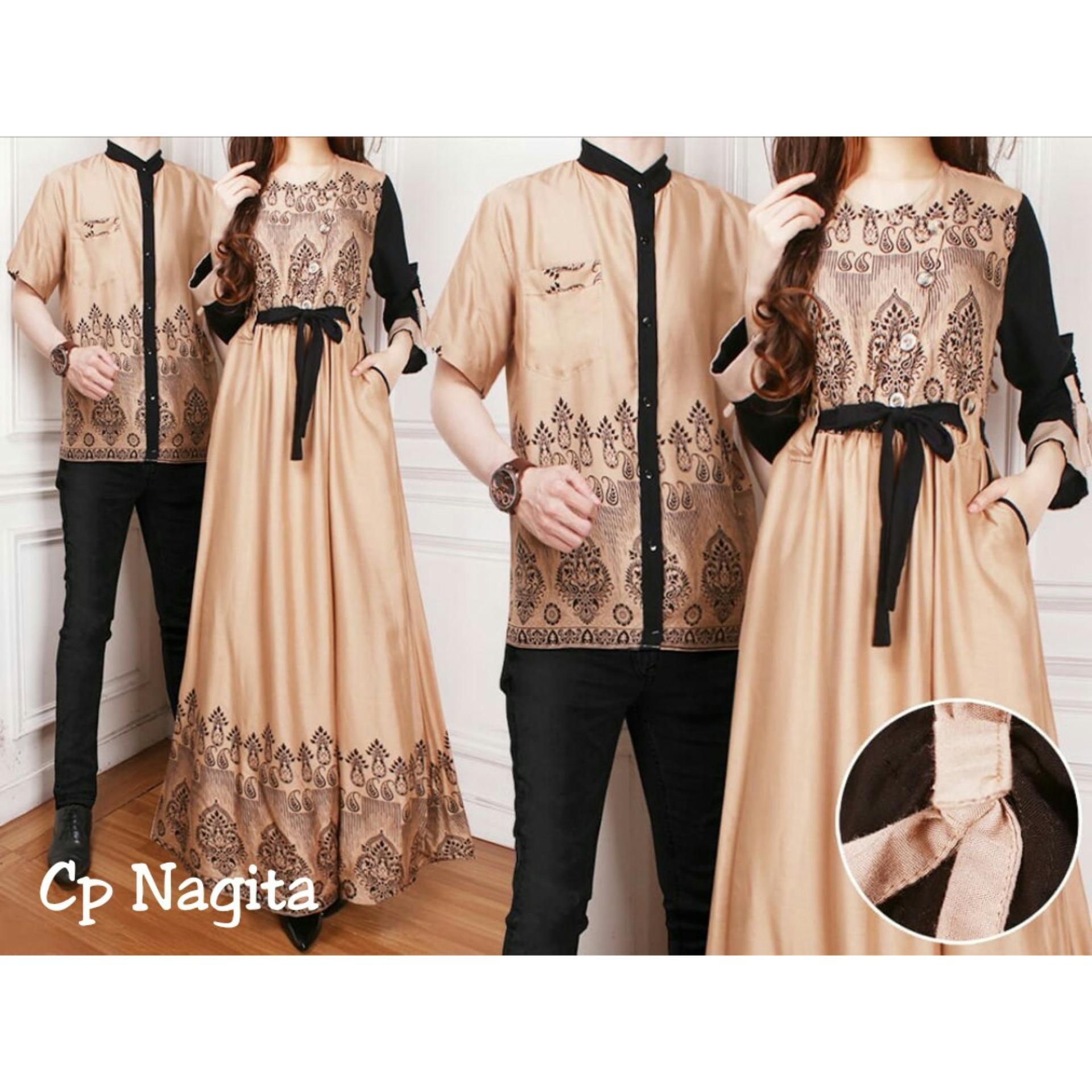 Kedaibaju Batik Couple / Baju Pasangan / CP Nagita - IA