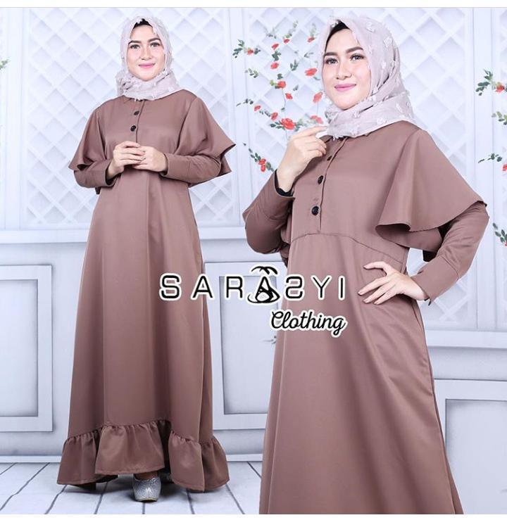 Serasyi Dress Balotelly Baju Wanita Gamis Baju Terusan Panjang Baju Kerja  Gaun Pesta Murah Remaja Baju 25b0f451be