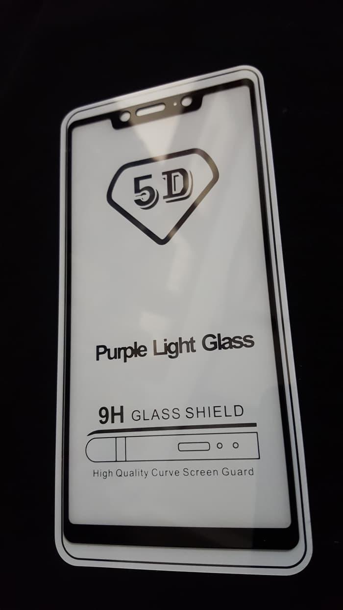 ... Xiaomi Mi 8 SE Tempered Glass 5D Color Full Cover Ambigo - Hitam - 4 ...