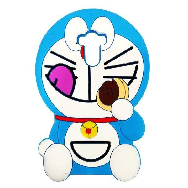 Case 4D karakter Dorayaki Xiaomi Redmi 4 Prime Doraemon softcase soft 3D kartun boneka -