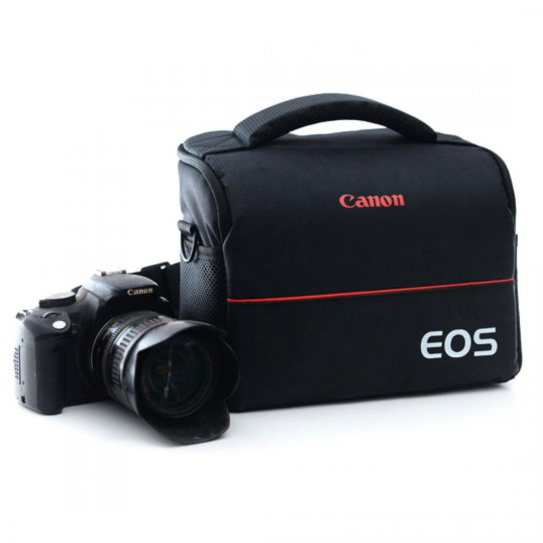 Tas Selempang Kamera DSLR for Canon Nikon EOS Camera Bag Gadget