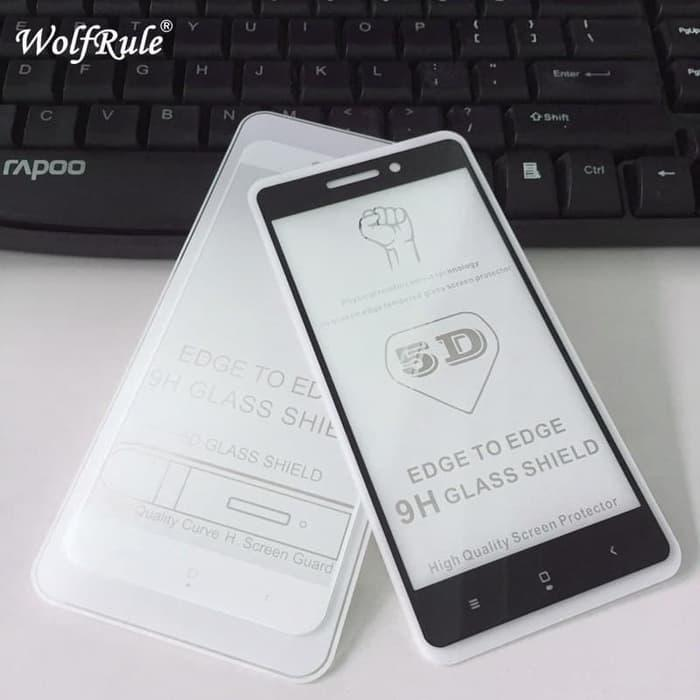 Xiaomi Redmi 4A Tempered Glass 5D Color Full Cover Ambigo Original - 5 .