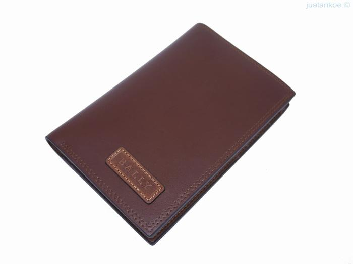 Cek Best Seller!! Dompet Kulit Pria Tanggung Bally Dt023 Brown Ready ... bee45586a2