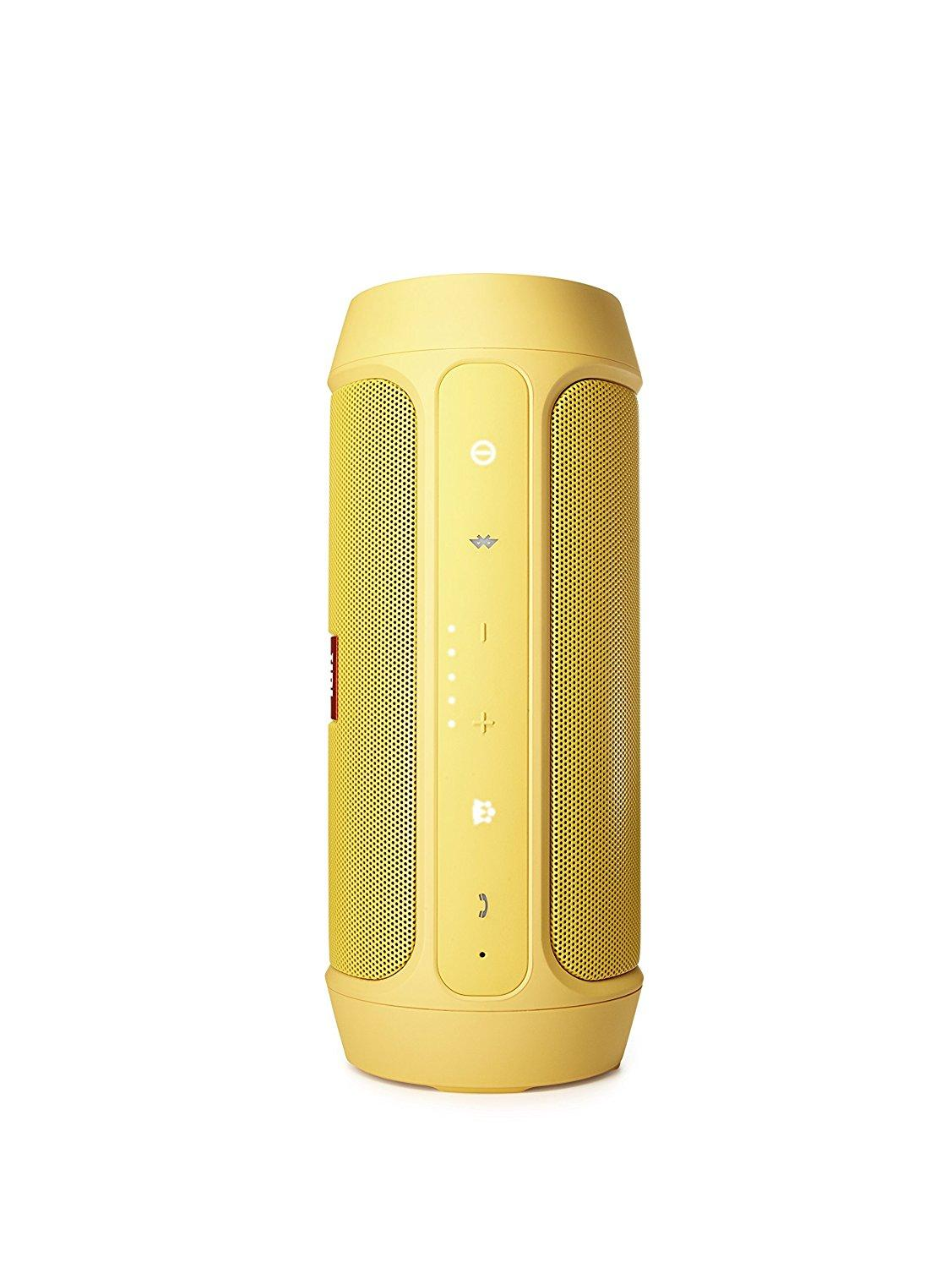Fitur Jbl Charge 2 Bluetooth Speaker With Powerful Bass Yellow 3 Merah Original
