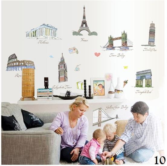 Wallsticker / Wall Sticker / Wallstiker / Wall Stiker / Stiker Dinding / Hiasan Dinding 10