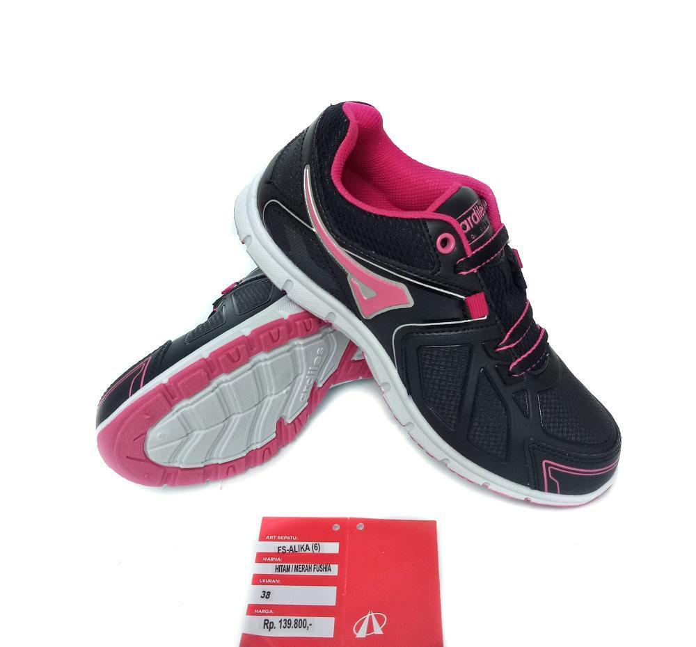 Ardiles Alika Black Pink - Sepatu Wanita - Sepatu Sneaker - Sepatu Casual - Sepatu Sekolah