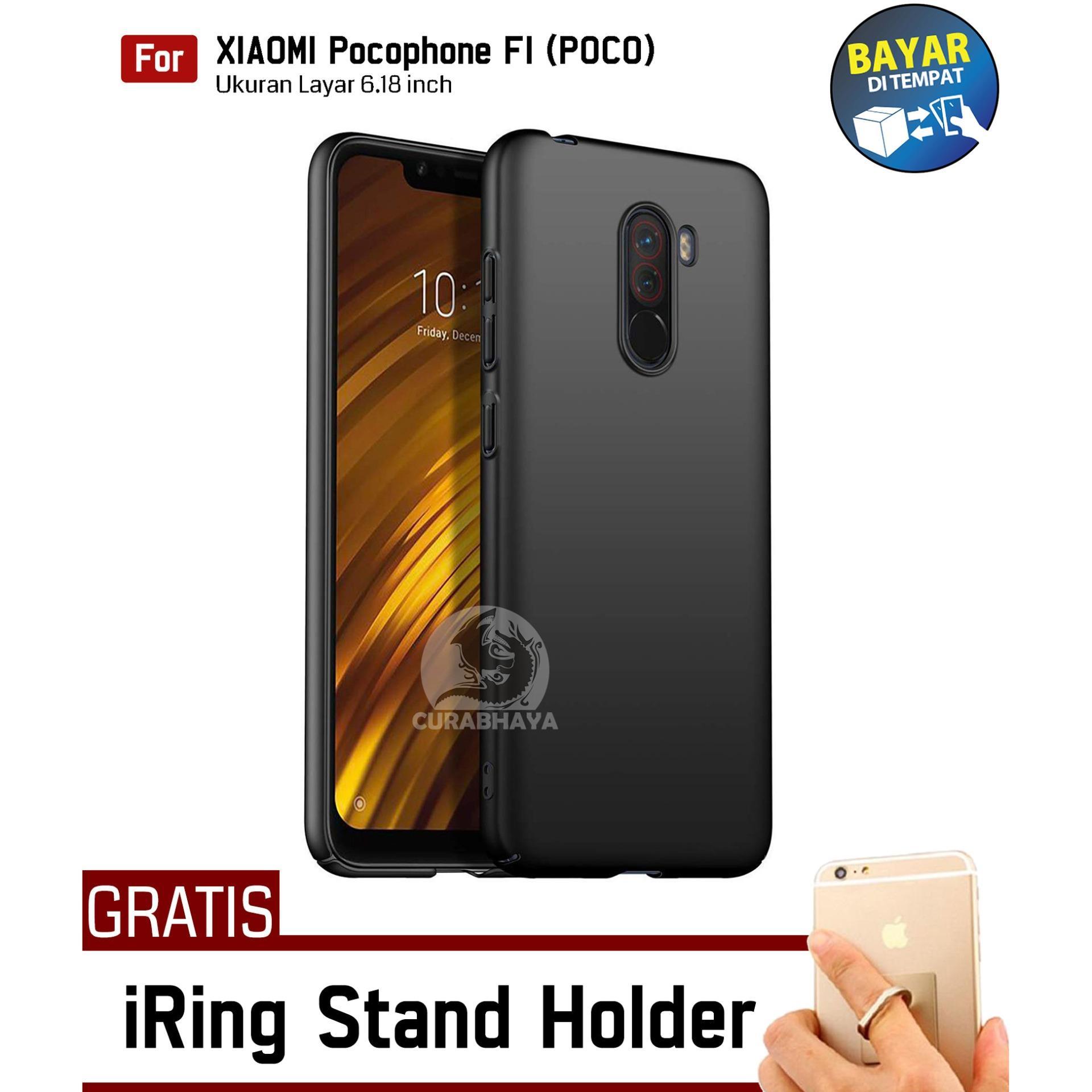 MidNight Xiaomi Pocophone F1 (POCO) | Slim Case Black Matte Softcase Premium Baby Skin