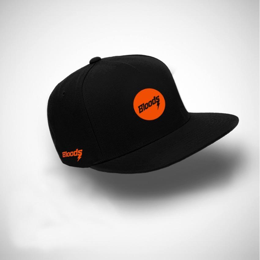 Brather Store Snapback Distro Bloods Circel Little Orange Premium