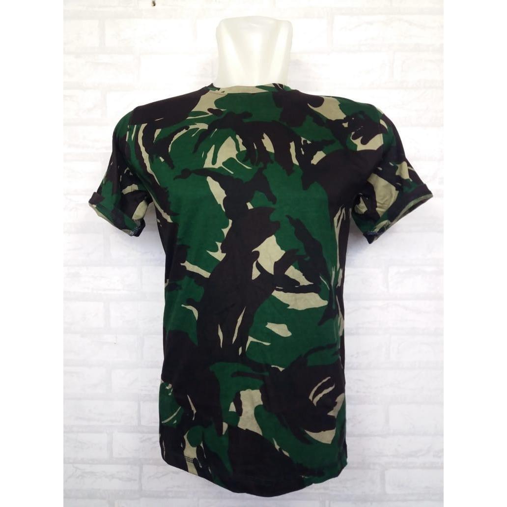 Zos T-Shirt Army T-Shirt Pria Wanita Kaos Polo Pakaian Pria Fashion Pria Kaos Kerah Baju Berkerah Kaos Cowo Atasan Kasual Kaos Distro Sport Topi Jaket Celana Sepatu Tni Bomber Pilot Loreng Armi Abri Motif Tentara