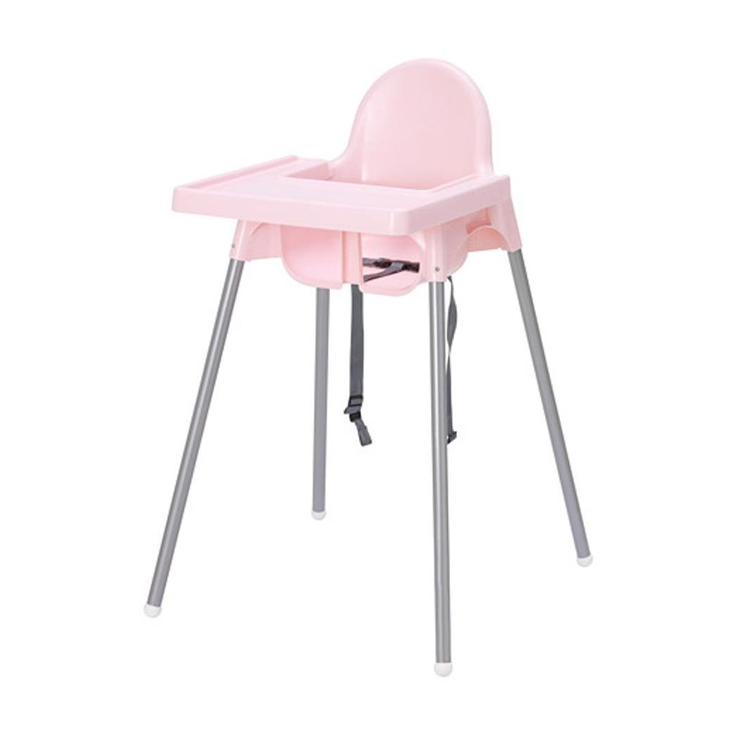 Beli Barang Ikea Antilop Baby Chair High Chair With Pink Tray Kursi Makan Anak Dengan Meja Pink 1 Pcs Online